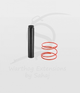 "The ""Ace Maker"" Black 20 cm Extension + Red Spring"