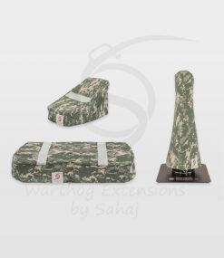 Warthog dust covers by SAHAJ (15 cm – 20 cm extended Warthog Grey Camo Large Set)