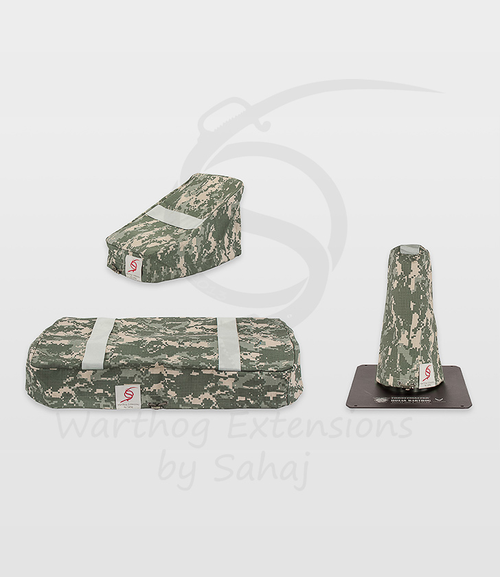 Warthog dust covers by SAHAJ (Standard Warthog NOT extended Grey Camo Large set)