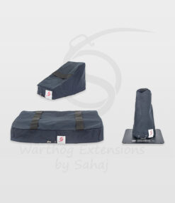 Warthog dust covers by SAHAJ (Standard Warthog NOT extended Black Large set)