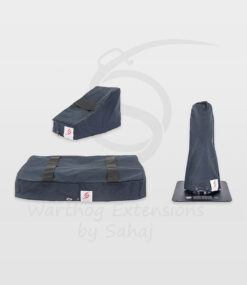Warthog dust covers by SAHAJ (7,5 cm – 10 cm extended Warthogs Black Large Set)