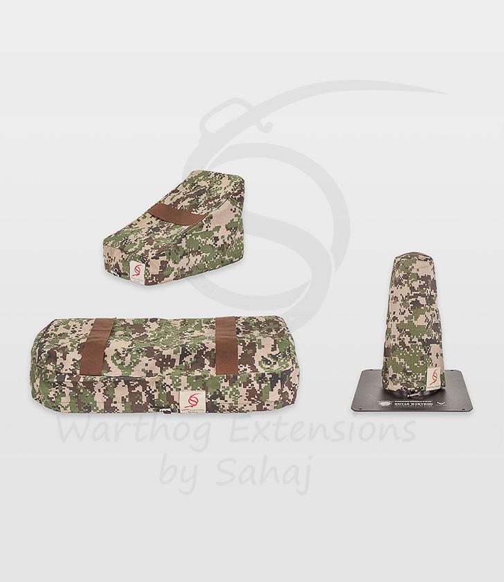 Warthog dust covers by SAHAJ (Standard Warthog NOT extended Grey Camo Large set)