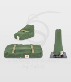 Warthog dust covers by SAHAJ (7,5 cm – 10 cm extended Warthogs Military Green Large Set)