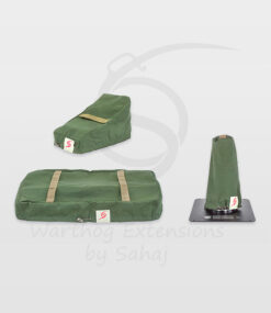 Warthog dust covers by SAHAJ (Standard Warthog NOT extended Military Green Large set)