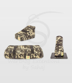 Warthog dust covers by SAHAJ (Standard Warthog NOT extended Yellow Camo Large Set)