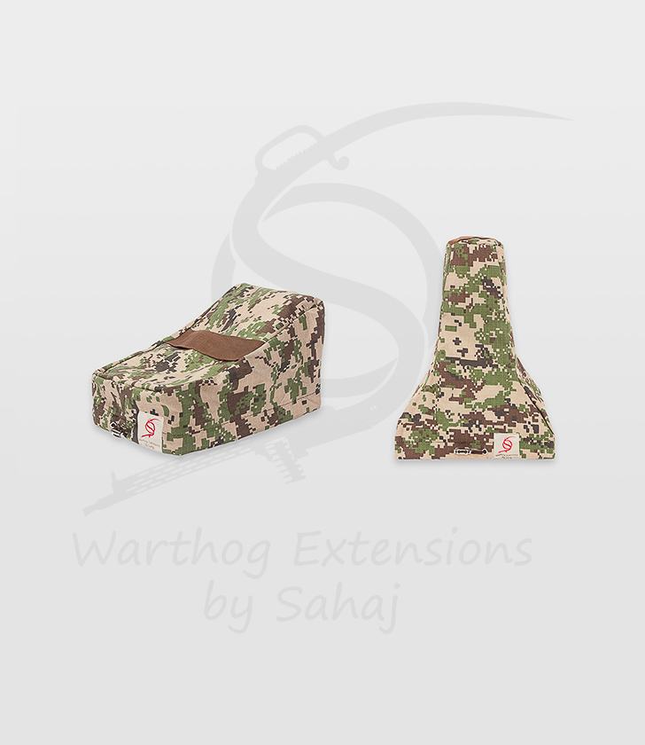 Saitek X55/X56 Dust Covers Brown Camo