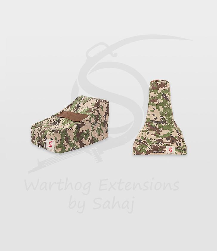 Saitek X55/X56 Dust Covers Brown Camo