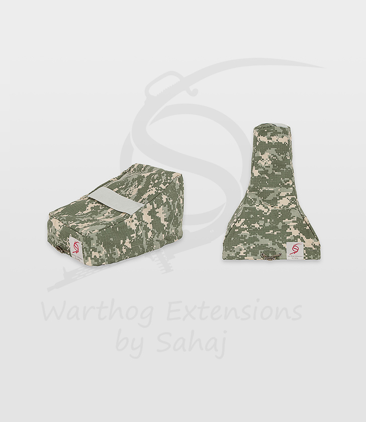 Saitek X55/X56 Dust Covers Grey Camo