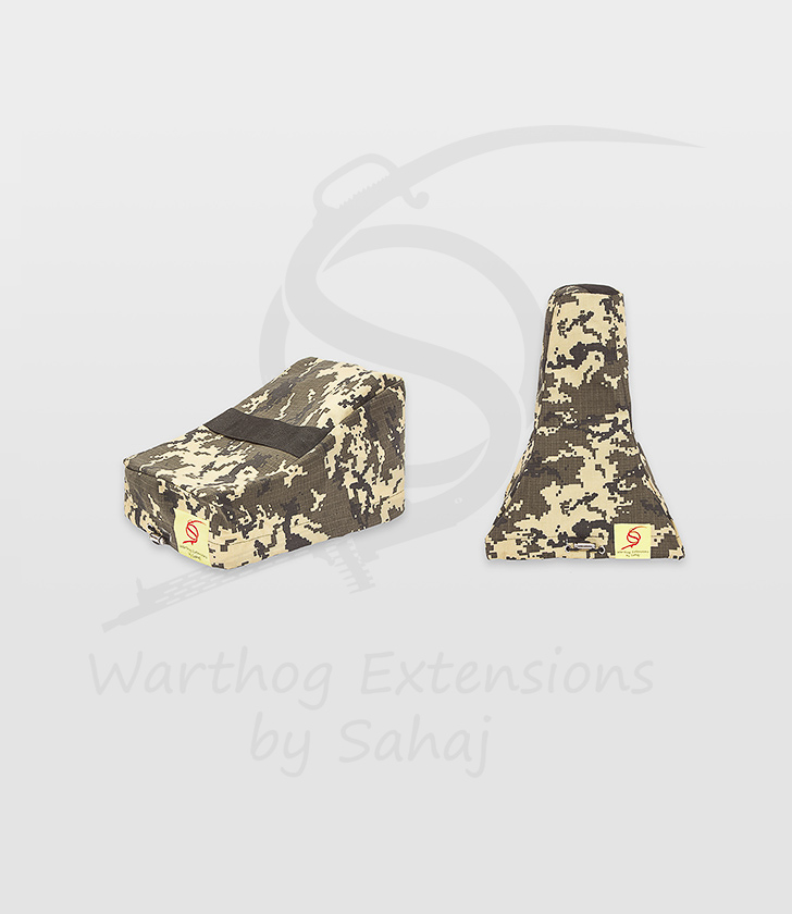 Saitek X55/X56 Dust Covers Yellow Camo