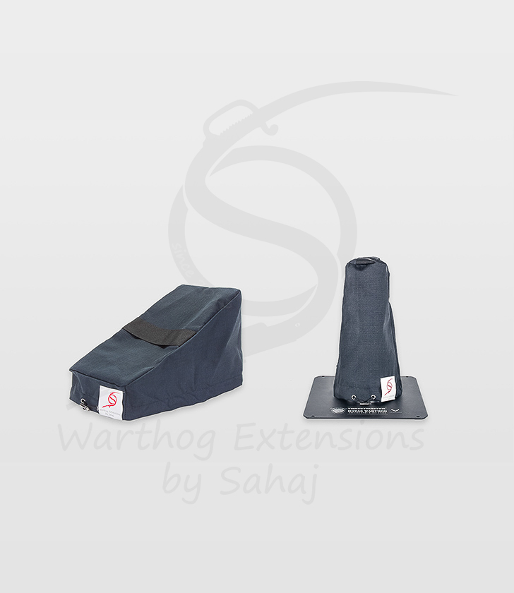Warthog dust covers by SAHAJ (small set black)