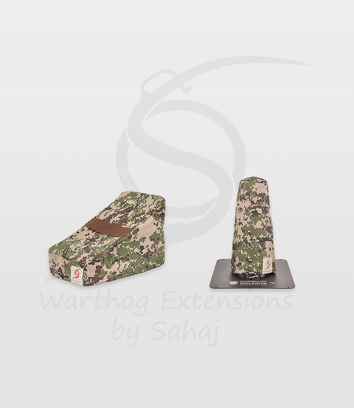 Warthog dust covers by SAHAJ (Standard NOT extended, brown camo small set)