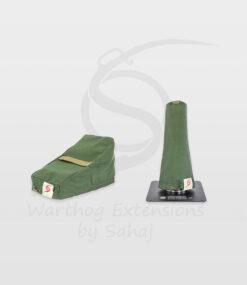 Warthog dust covers by SAHAJ (7,5 cm – 10 cm extended, military green small set)