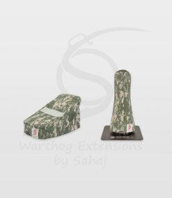 Warthog dust covers by SAHAJ (7,5 cm – 10 cm extended, grey camo small set)