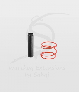 "The ""Ace Maker"" Black 15 cm Extension + Red Spring"
